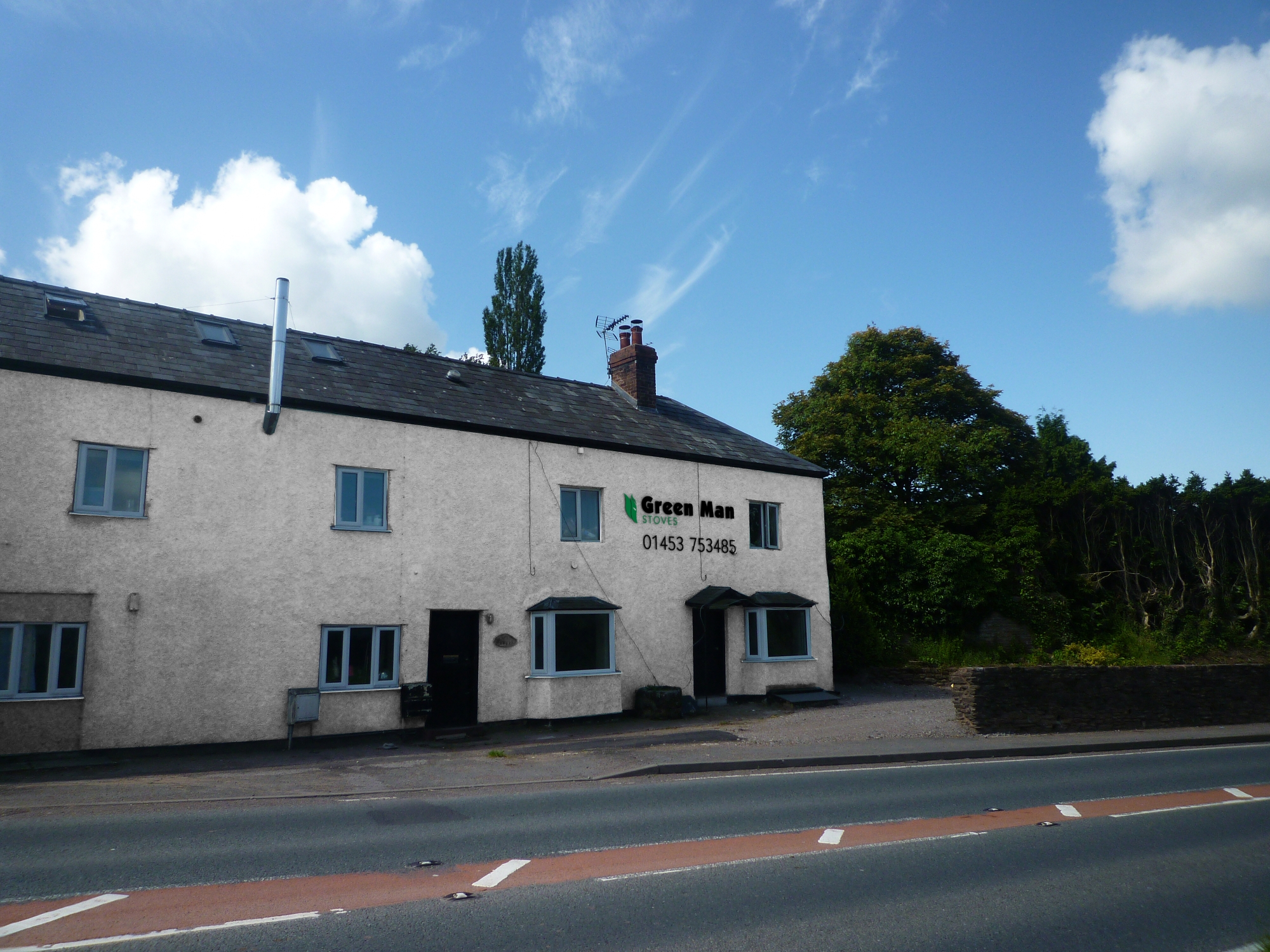 Green Man Stoves Shop Front